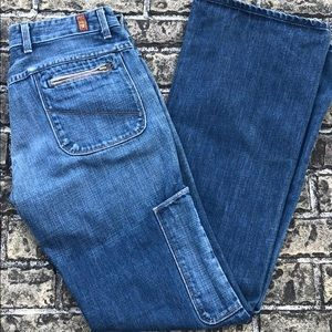 7 for All Mankind jeans zippers, side pocket 30
